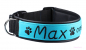 Preview: Bell-Wuff besticktes Halsband Modell Max