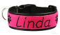 "Mobile Preview: Besticktes Halsband - Modell ""Linda"""